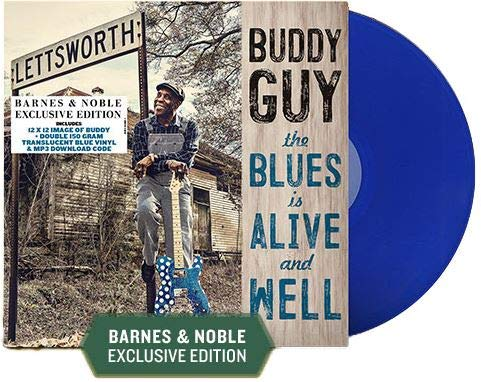 The Blues Is Alive And Well (Exclusive Double 150g Translucent Blue Vinyl) by Silvertone Records