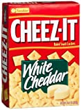 Cheez-It Baked Snack Crackers, White Cheddar, 13.7-Ounce Boxes (Pack of 4)