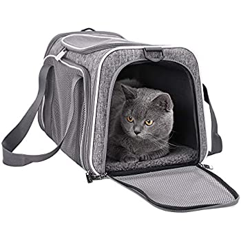 Amazon Com Petseek Extra Large Cat Carrier Soft Sided