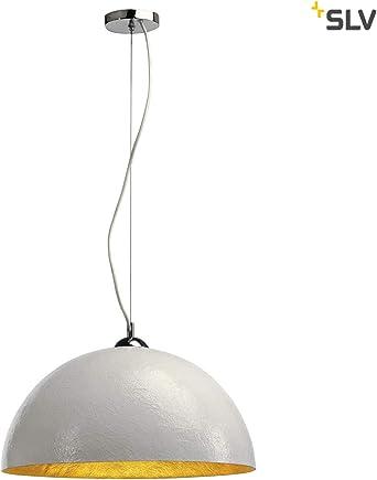 17,5 cm Deckenlampe Esszimmer Pendel Leuchte Lampe Hängelampe Chrom  Weiß  Ø ca
