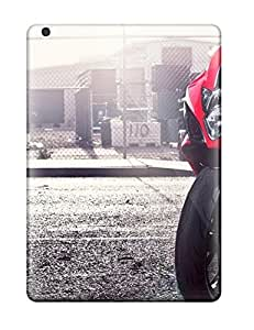 Premium Red Suzuki Heavy-duty Protection Case For Ipad Air