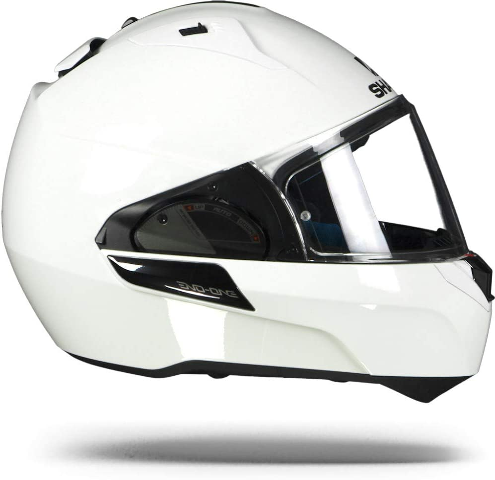 Shark Evo-One 2 Flip Up Front Modular Motorcycle Helmet Lid Gloss Black