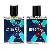 Set Wet Studio X Edge and Impact Perfume Spray For Men, 49ml (Pack of 2)