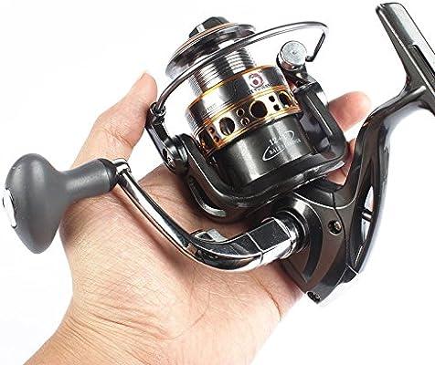 Pesca Spinning Carretes – lurehunter GA1000 – 7000 rollos de pesca ...