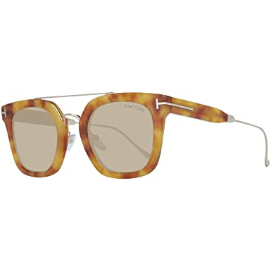 db6248eeec914 Image Unavailable. Image not available for. Color  Sunglasses Tom Ford FT  0541 Alex- 02 53E blonde havana   brown