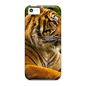New Tiger Tpu Case Cover, Anti-scratch ShaCke Phone Case For Iphone 5c