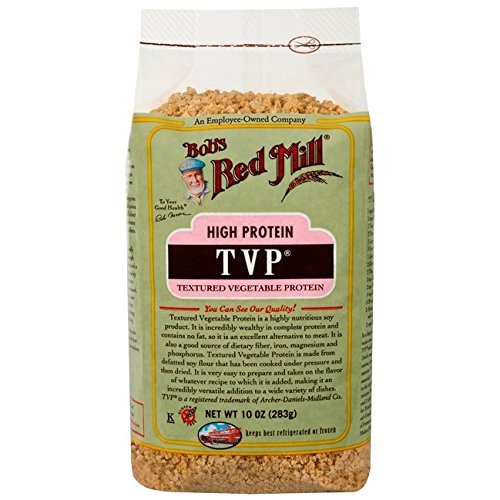 - Bob's Red Mill High Protein T.v.p., Textured Vegetable Protein, 10 oz