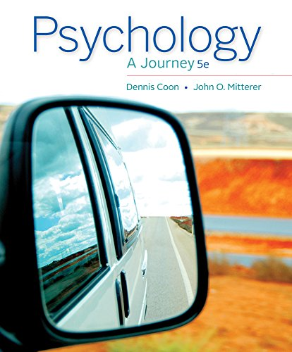 Psychology: A Journey by Cengage Learning