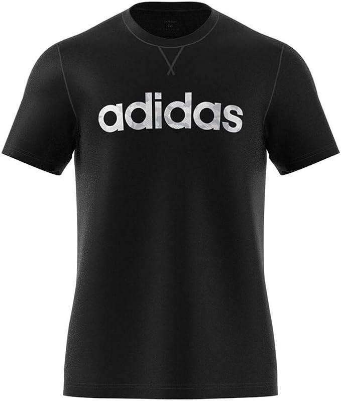 Beauty Adidas Originals Print For Men Blue T Shirt Linear