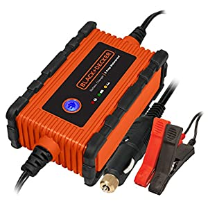 BLACK+DECKER BC2WBD 2 Amp Waterproof Automatic Battery Charger/Maintainer