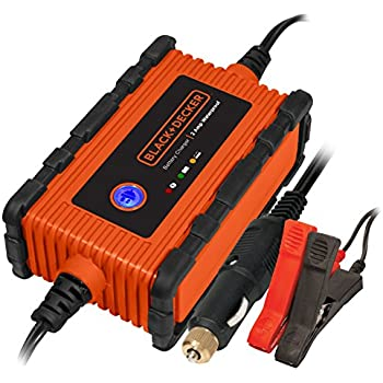 BLACK+DECKER BC2WBD 2 Amp Waterproof Battery Charger / Maintainer
