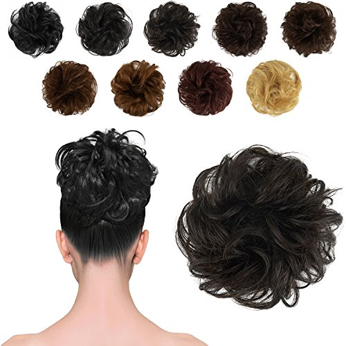 Where to find hair extensions bun with clip?