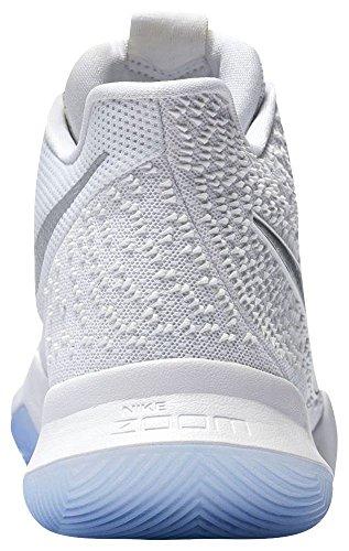 Nike Miler Ss Crew Top T-Shirt White/Chome