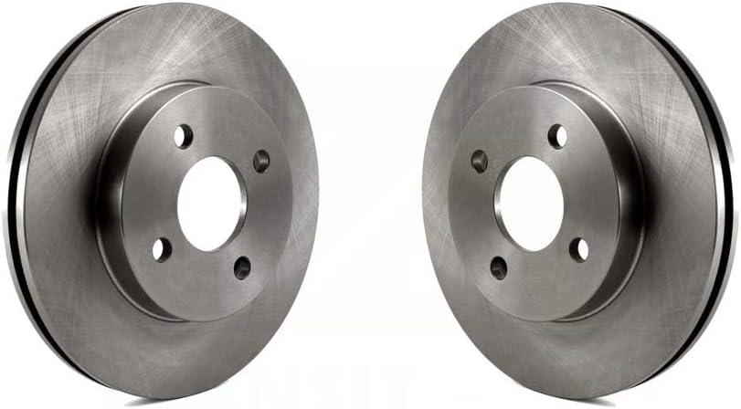 Front Disc Brake Rotors Pair For Chevrolet Cobalt Saturn Ion Pontiac G5 Pursuit