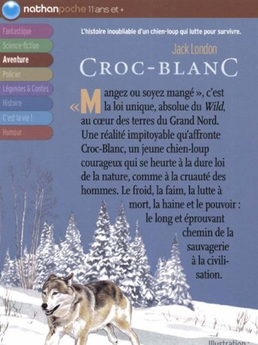 Top Amazon.fr - Croc-Blanc - Jack London, Philippe Mignon - Livres HF68