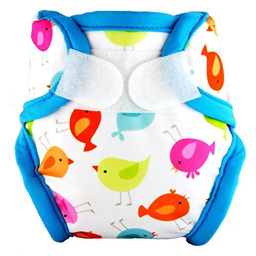 Tidy Tots Diapers Hassle-Free TweetHeart Hook & Loop Diaper Cover Newborn