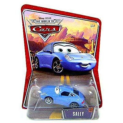 Disney Pixar Cars Sally World of Cars Edition Mattel 1:55 Scale: Toys & Games