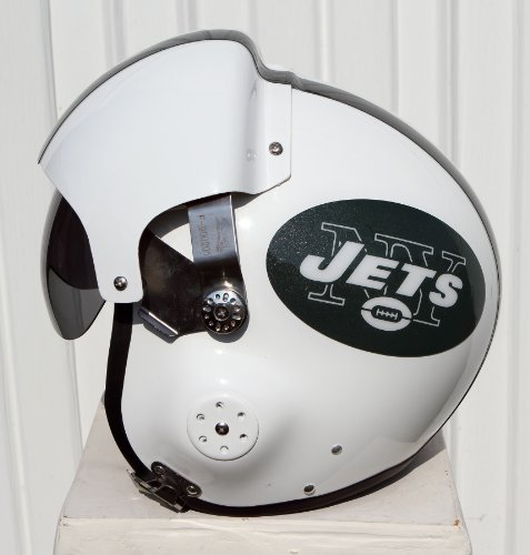 New York Jets Fighter Pilot Motorcycle Helmet