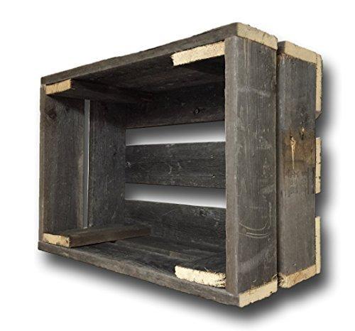 Barnwood Decor of OKC Old Farmhouse Barnwood Crate Decorative Weathered Wood Crate by Barnwood Decor of OKC