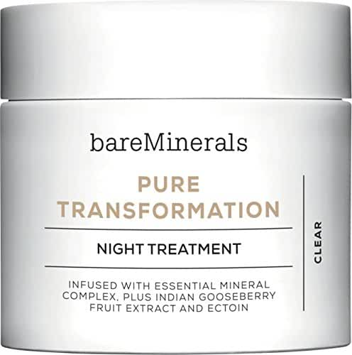 bareMinerals Skinsorials Pure Transformation Night Treatment, 0.15 Ounce