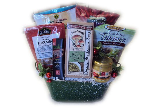 Vegan Christmas Gift Basket by Well Baskets by Well Baskets (Image #1)