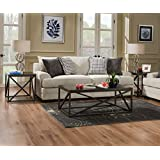 Simmons Upholstery 6548BR-04Q Dillon Driftwood Sleeper Sofa, Queen, Drillon Driftwood