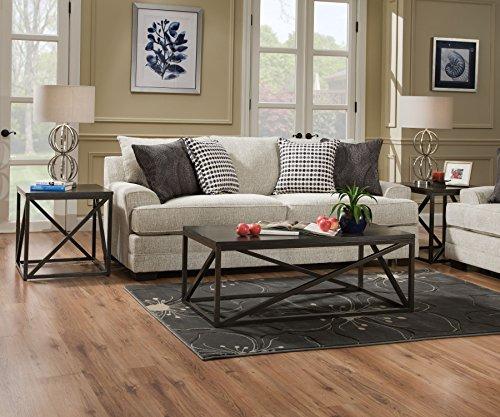 Simmons Upholstery 6548BR-04Q Dillon Driftwood Sleeper Sofa, Queen, Drillon ()