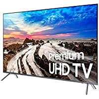 SAMSUNG UN55MU800DFXZA LED 4K 240 MR Full HD Smart TV, 55 (Certified Refurbished)