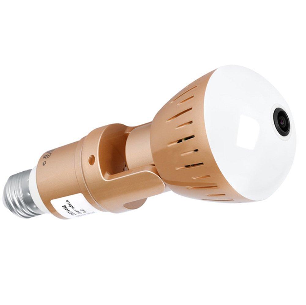 E27 Wireless Network APP Intelligente LED-Sprechbirne, Fernüberwachung Fernüberwachung Fernüberwachung Lampe, 360-Grad-Panorama, In Mehreren Orten ff8840