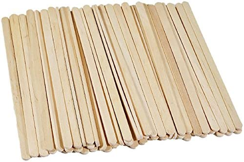 Solo Birch Wood Stirrers coffee stir sticks C-10C 1000 Count 7-Inch