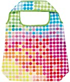 moses. Shopper Bunte Punkte | Faltbare Einkaufstasche | umweltfreundlich, wiederverwendbar