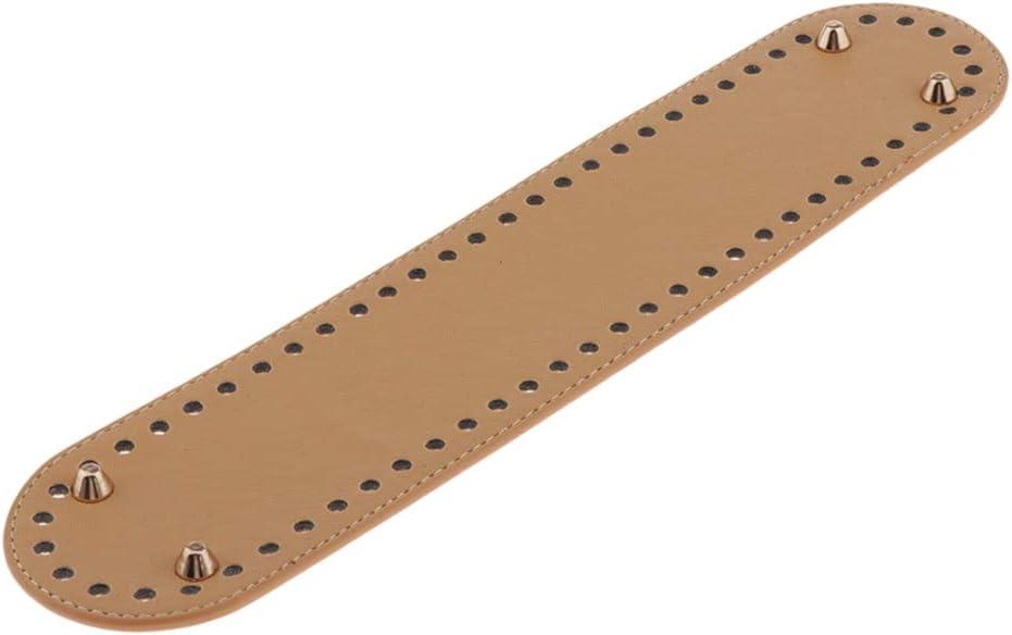 Marr/ón 18x5x0.5cm IPOTCH Coj/ín de Parte Inferior de Bolso Base de Inserto Moldeador para Hacer Cartera Bolsa de Hombro DIY