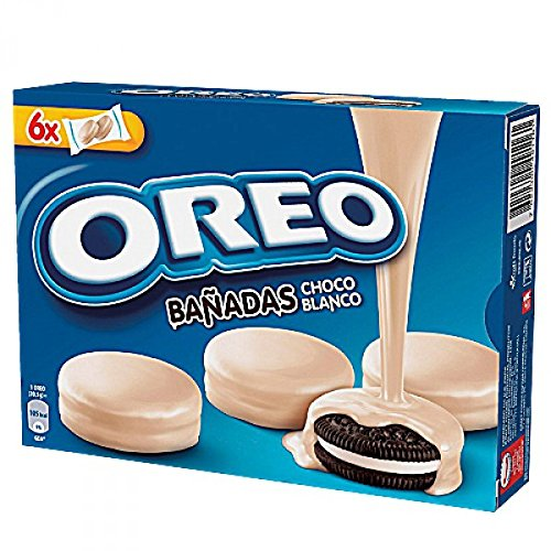 Oreo cookies coated with white chocolate: Amazon.co.uk: Grocery