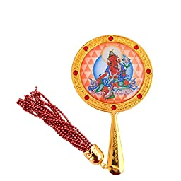 Red Tara Mirror for Authority and Control W Fengshuisale Red String Bracelet W1617