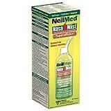 NeilMed NasaMist Extra Strength Hypertonic Sterile Saline Nasal Spray, 4.23 Ounce (125 mL)