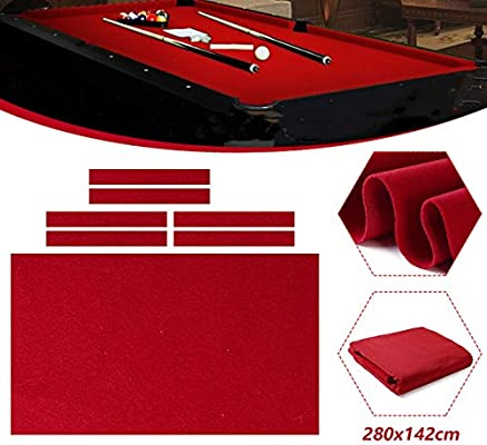 TOPWA - Mantel de billar profesional para mesa de billar de 9 pies ...