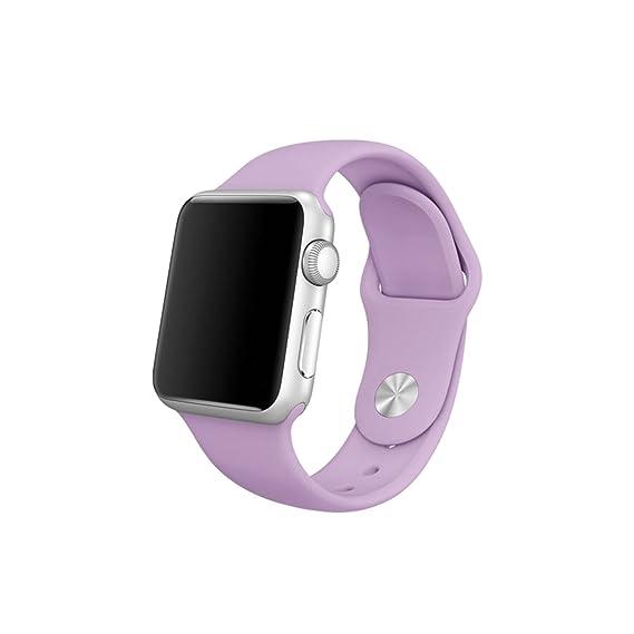 Nueva banda de silicona con adaptador de conector para Apple Watch ...