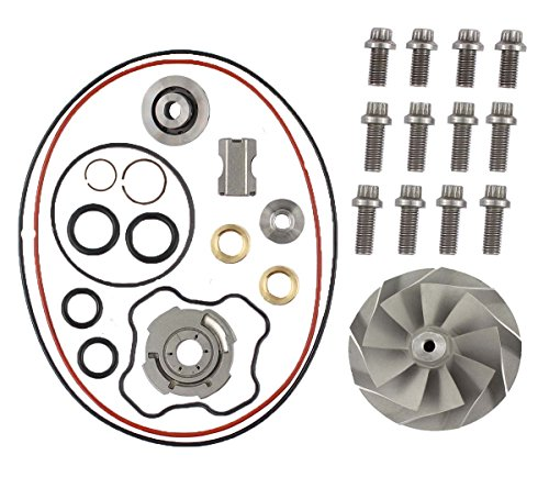 XtremeAmazing Powerstroke 7.3L Turbo Banks Compressor Wheel & Upgraded Rebuild Kit TP38 (Banks Turbo)