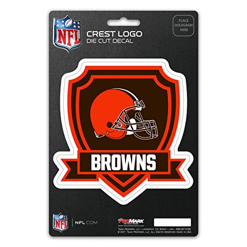 NFL Cleveland Browns Shield Decal