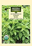 Seeds of Change S10849 Certified Organic Lemon Basil