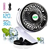 Best Battery Operated Portable Fans - TOMOTO Mini Battery Operated Clip Fan,Sall Portable Fan Review