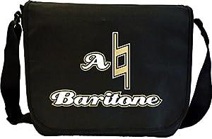 Vocalist Singing Natural Baritone - Sheet Music Document Bag Musik...