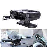 Rumfo Car Fan Heater, 12V 150W Auto Heating Fan Portable 2 in 1 Heating Cooling Fan Car Dryer Windshield Defroster Demister