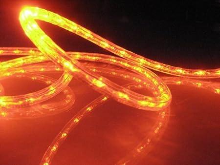 Outdoor Rope Lights Uk 18ft rope lights orange deep amber led rope light kit 10led 18ft rope lights orange deep amber led rope light kit 10quot workwithnaturefo