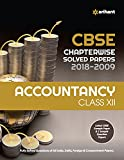 CBSE Chapterwise Solved Papers Accountancy Class 12 for 2018-2019