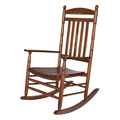 Shine Company Rhode Island Porch Rocker, Oak