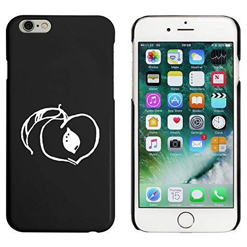 Noir 'Pêche' étui / housse pour iPhone 6 & 6s (MC00041293)
