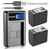 Kastar Battery (X2) & LCD Slim USB