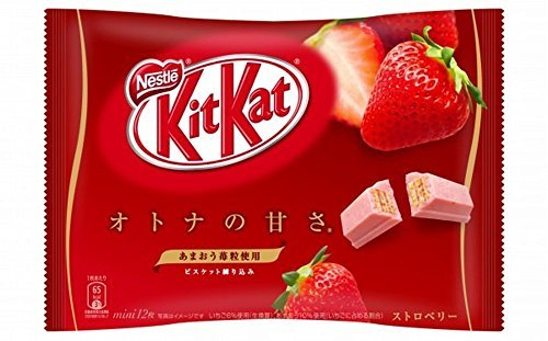 Japanese Kit Kat - Strawberry Flavor 5.14 Oz