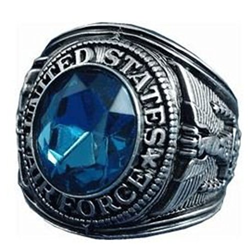 MilitaryBest U.S. Air Force Ring - Style No. 23 (Us Air Force Ring)